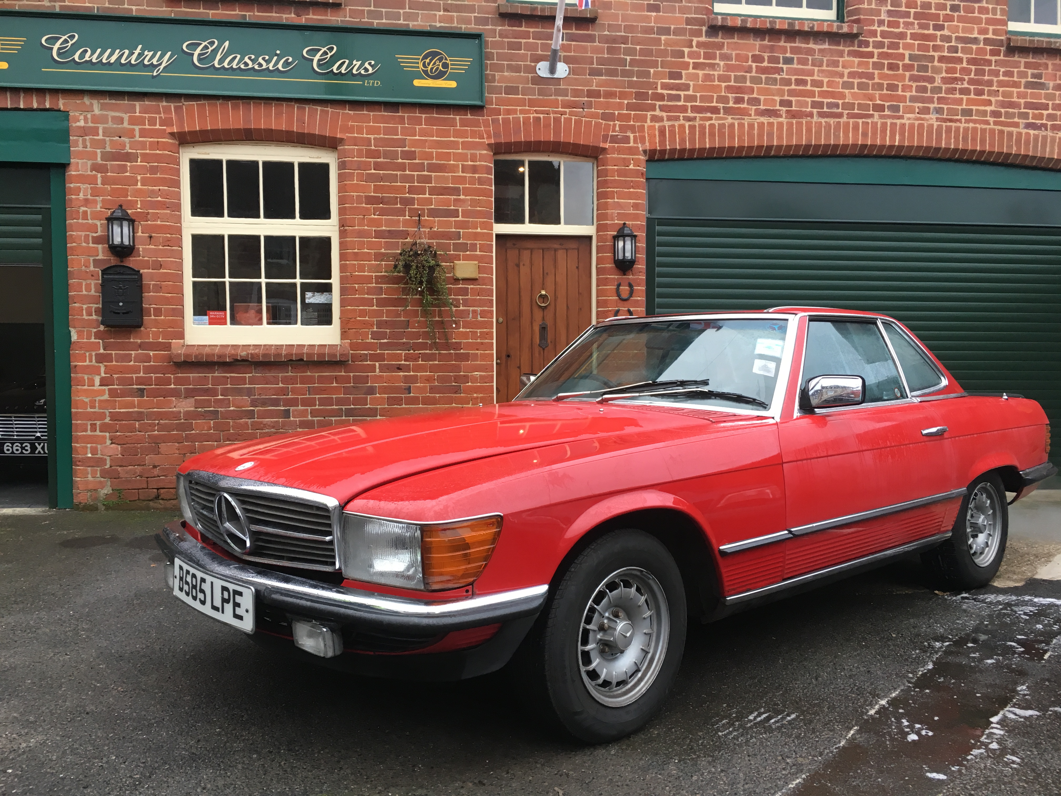 1984 mercedes benz r107 280sl country classic cars for What country is mercedes benz from